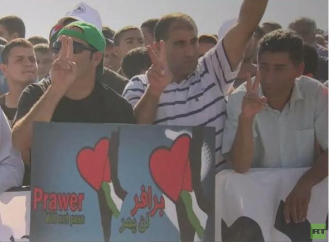 سقوط مصابين في مواجهات بين الفلسطينيين والشرطة الإسرائيلية احتجاجا على مخطط