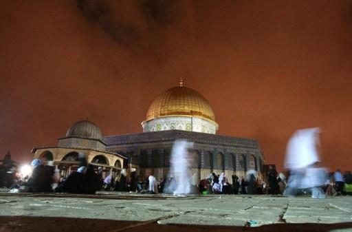 اصابات مواجهات القوات الاسرائيلية والمصلين