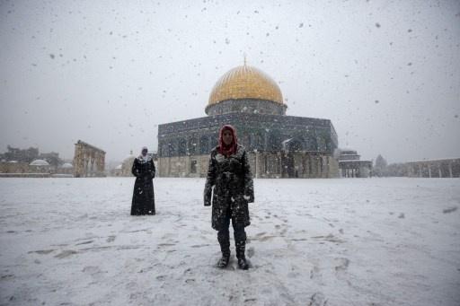 """عاصفة """"ألكسا"""" تجتاح الشرق الأوسط.."""