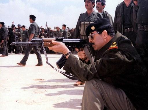 العراق مأساة أخرى صدام حسين