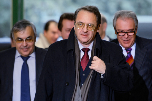 الخارجية الروسية: بوغدانوف أكد لزعماء المعارضة السورية ضرورة تسوية الأزمة سياسيا ودون شروط مسبقة
