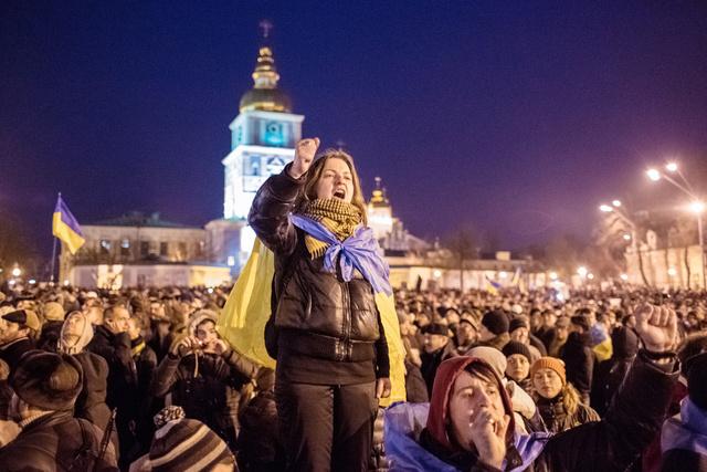 المحكمة الإدارية في كييف تمنع تنظيم تظاهرات في وسط المدينة