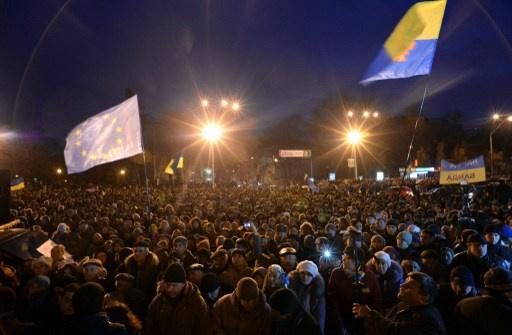 قراصنة يخترقون الموقع الإلكتروني للحكومة الأوكرانية احتجاجا على تفريق المتظاهرين وسط كييف