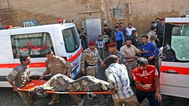 مقتل 12 شخصا وجرح 25 آخرين في تفجير انتحاري في مدينة بعقوبة العراقية
