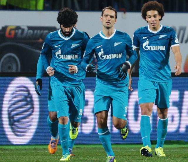 زينيت يواصل نزيف النقاط في الدوري الروسي