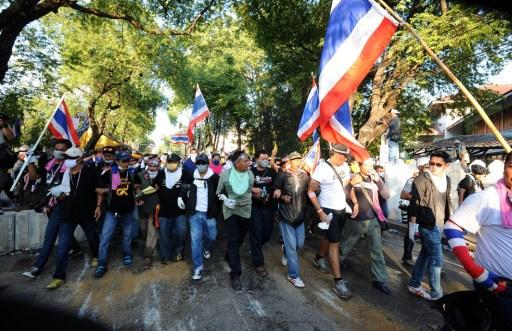 زعيم المعارضة التايلاندية يعلن نيته إسقاط