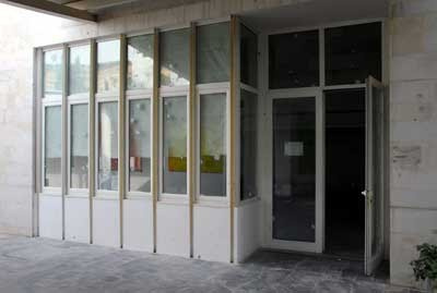 سقوط قذيفة على المدرسة الفرنسية في دمشق