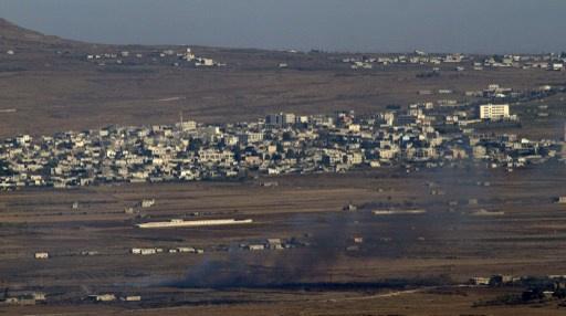 سقوط قذيفة اطلقت من سورية في الجولان المحتل والجيش الإسرائيلي يرد بإطلاق النار في المقابل