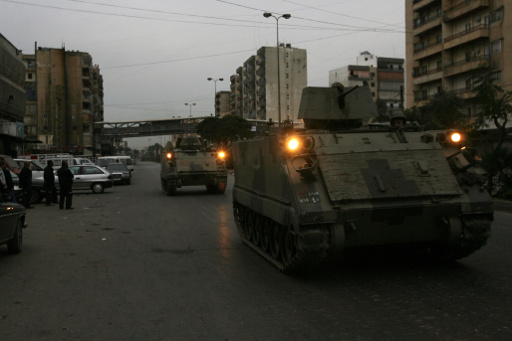 وضع طرابلس تحت اشراف الجيش اللبناني الكامل لمدة 6 اشهر