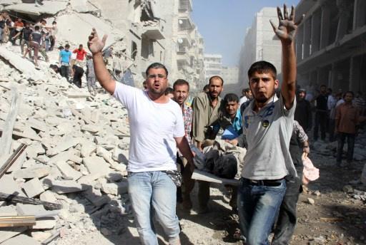 نشطاء: نحو 126 ألف إنسان قتل في سورية