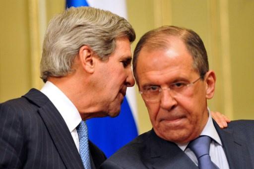 لافروف يلتقي كيري على هامش اجتماع مجلس روسيا ـ الناتو في بروكسل