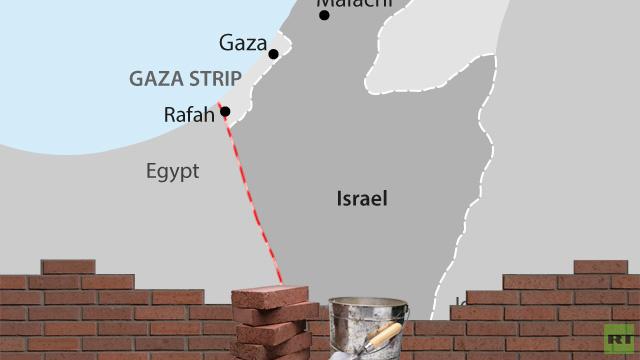 اسرائيل تبني الجزء الأخير من سياج أمني لها مع مصر