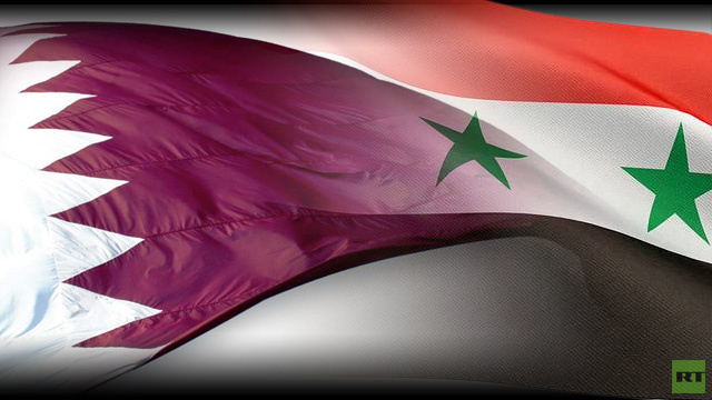 قطر تنفي اجراء اتصالات بدمشق وتؤكد إن تواصلها يقتصر على الائتلاف