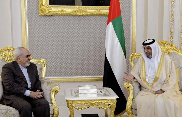 رئيس دولة الإمارات يقبل دعوة روحاني لزيارة إيران