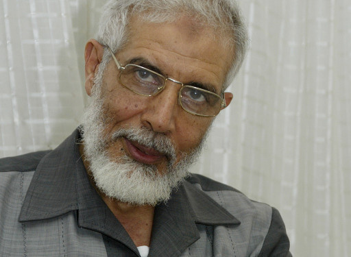 مصدر امني: المرشد المؤقت للاخوان يدير العمليات ضد الجيش المصري من غزة