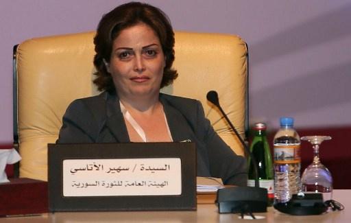 سهير الأتاسي تستقيل من الائتلاف الوطني السوري