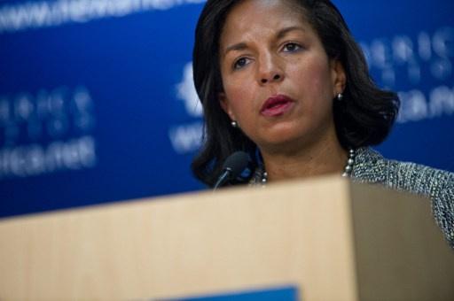 رايس: للولايات المتحدة الحق في الدفاع عن حقوق الإنسان في الخارج باستخدام القوة