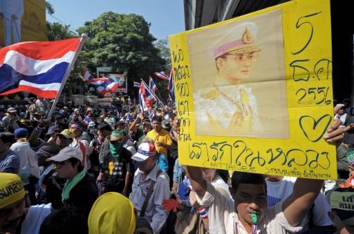 ملك تايلاند يدعو المواطنين إلى العمل لصالح الوطن والاستقرار وأمن الأمة