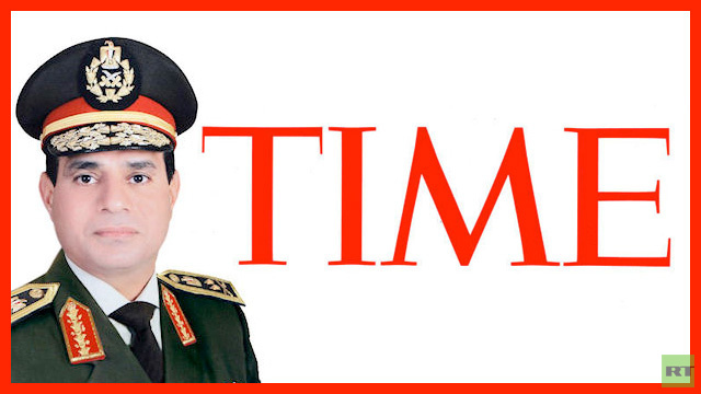 السيسي يتقدم في استفتاء مجلة