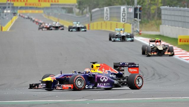 جائزة روسيا الكبرى للفورمولا-1 لأول مرة في 12 أكتوبر 2014