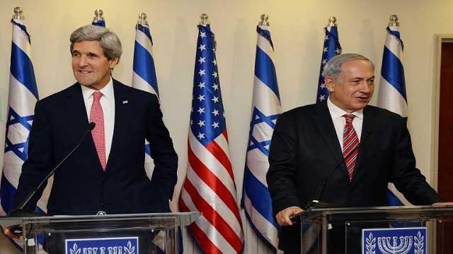 كيري واثق من قرب التوصل إلى اتفاق سلام بين الفلسطينيين والإسرائيليين