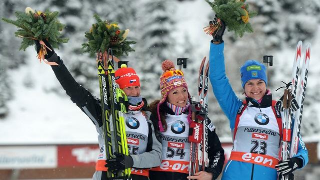 الروسية إيرينا ستاريخ تحرز برونزية سباق البياثلون 7.5 كم