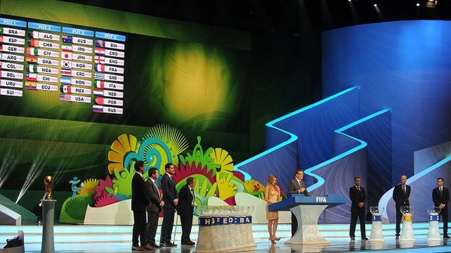 قرعة مونديال 2014 .. الجزائر تواجه بلجيكا وروسيا وكوريا الجنوبية