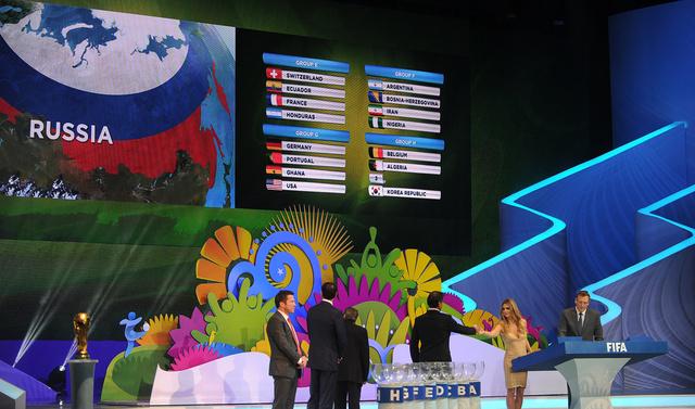 الجدول التفصيلي لمباريات كأس العالم 2014