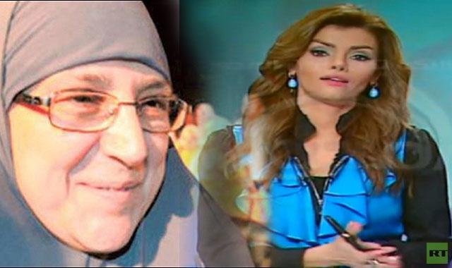 بالفيديو .. زوجة محمد مرسي تغلق الهاتف في برنامج حواري بعد مداخلة من 8 كلمات