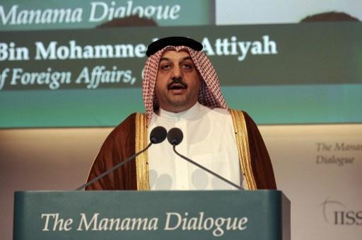 وزير الخارجية القطري يدعو الى مشاركة دول الخليج في المحادثات بين السداسية وايران