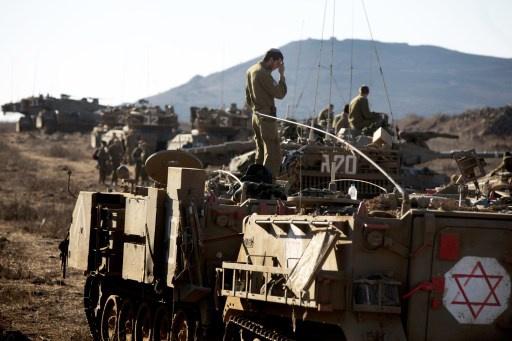 انفجار عبوة في الجولان يتسبب باعطاب مركبة عسكرية اسرائيلية