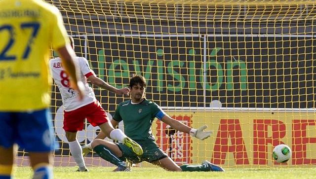 الميريا يهزم بالماس ويقترب من دور الـ 16 لكأس اسبانيا