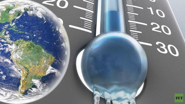 تسجيل رقم قياسي لأدنى درجة حرارة على الأرض