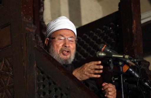 إقالة القرضاوي من هيئة كبار علماء مصر
