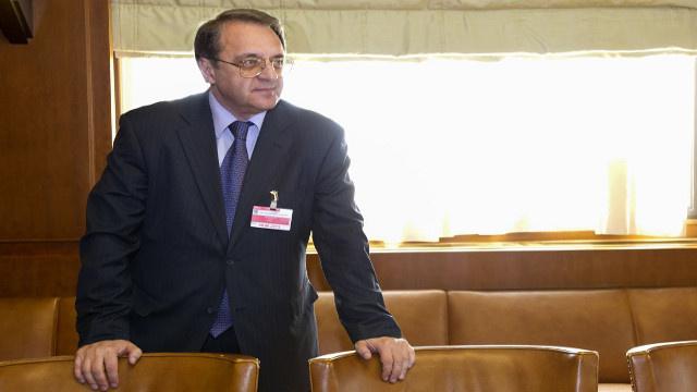 بوغدانوف: هناك تفاهم بين كافة المشاركين في عملية إتلاف الكيميائي السوري