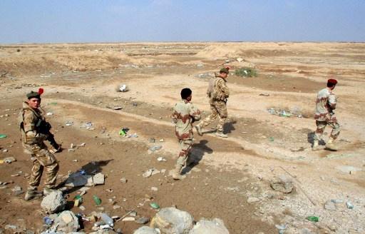 القوات العراقية تحبط هجوما لمجموعة مسلحة قادمة من سورية