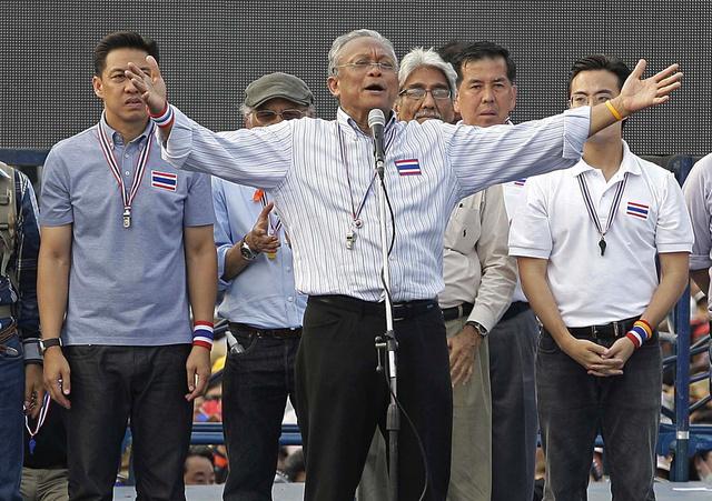 المعارضة التايلاندية تطالب برحيل الحكومة في غضون 24 ساعة