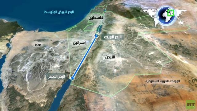 اتفاقية لربط البحر الميت بالأحمر