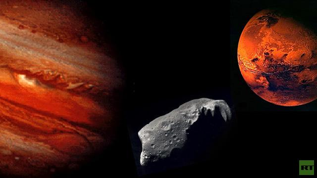اكتشاف كويكب جديد بين المريخ والمشتري