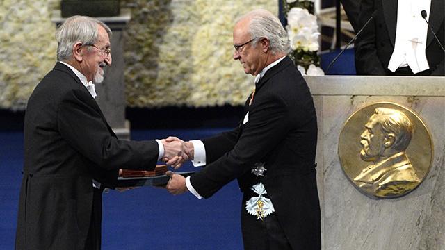 مراسم منح جوائز نوبل عام 2013 في ستوكهولم