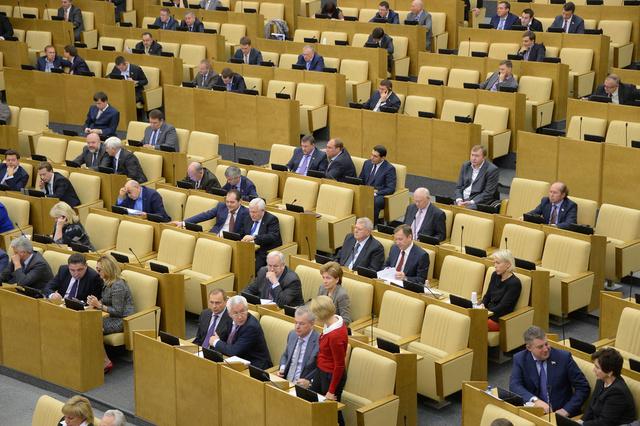 مجلس الدوما الروسي يعرب عن قلقه من تدخل الساسة الأوروبيين في شؤون أوكرانيا