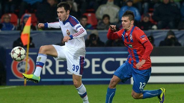 تسيسكا موسكو يخرج من دوري الأبطال خالي الوفاض