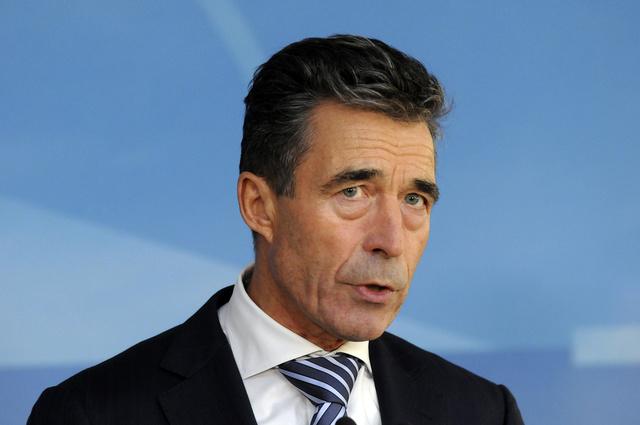 راسموسن يبقى أمينا عاما للناتو حتى 30 سبتمبر 2014