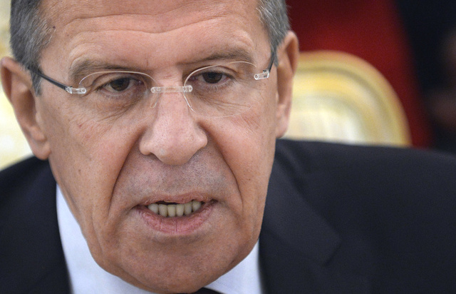 لافروف يؤكد لهنية تأييد موسكو لرفع الحصار عن قطاع غزة