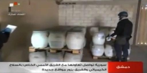 الأمم المتحدة: خطة إتلاف الأسلحة الكيميائية السورية ستنشر الأسبوع القادم