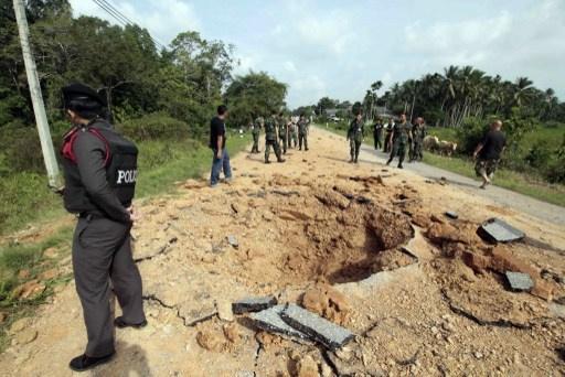 إصابة 8 أشخاص بانفجار قرب مدرسة في جنوب تايلاند