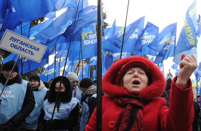 الحزب الحاكم في أوكرانيا ينوي حشد 200 ألف من أنصاره في كييف مع استمرار احتجاجات المعارضة