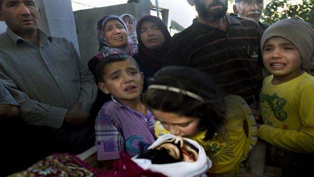 تسجيل أول حالة وفاة لطفل سوري بسبب البرد