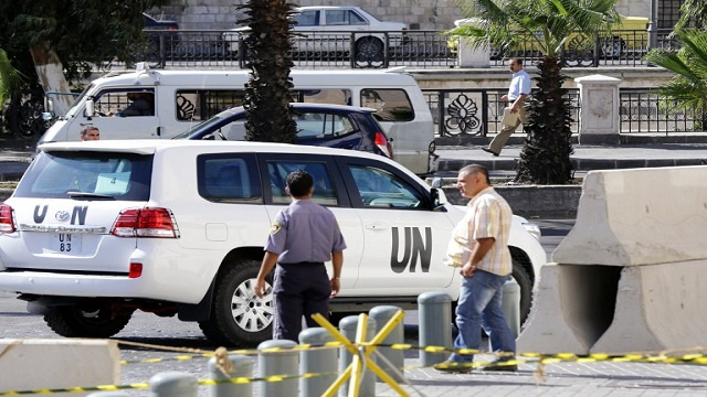 خبراء الكيميائي يرفعون تقريرا نهائيا إلى الأمين العام للأمم المتحدة