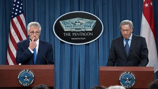 تشاك هاغل: سيطرة المسلحين الإسلاميين على مخازن الأسلحة في شمال سورية يعقد الوضع